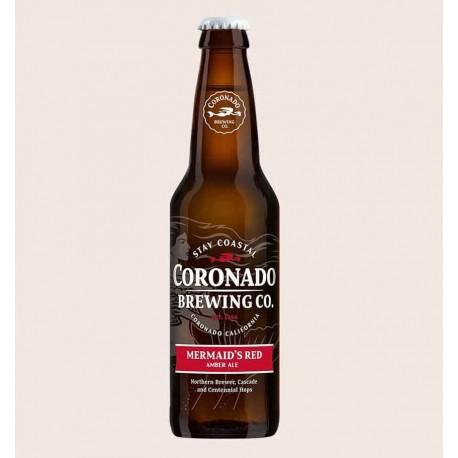 Cerveza importada de San Diego California USA mermaids red coronado brewing co. quiero chela