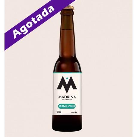 Cerveza artesanal madrina kristall weizen quiero chela