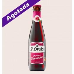 Cerveza belga importada st louis premium framboise Lambic quiero chela