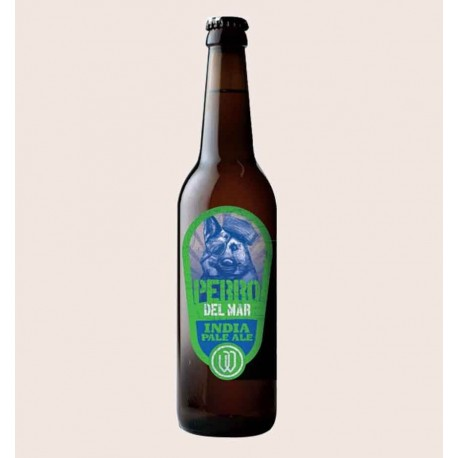 Cerveza artesanal perro del mar IPA wendlandt quiero chela
