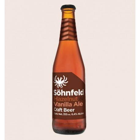 Cerveza artesanal Söhnfeld Hazelnut and Vanilla Ale quiero chela