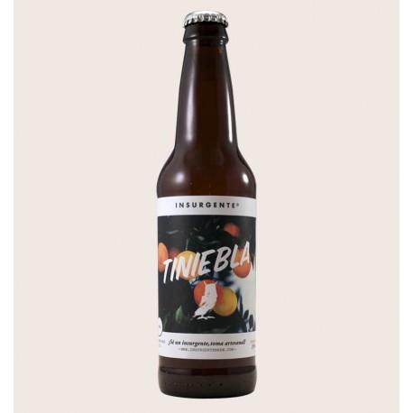 Cerveza artesanal tiniebla insurgente Witbier quiero chela
