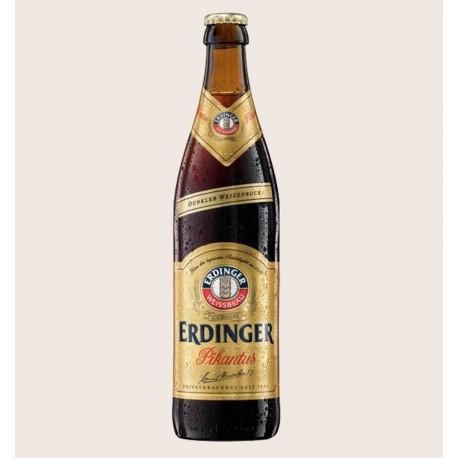 Cerveza importada erdinger pikantus Weizenbock quiero chela