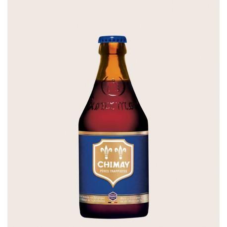 Cerveza importada chimay blue Belgian Strong Dark Ale quiero chela