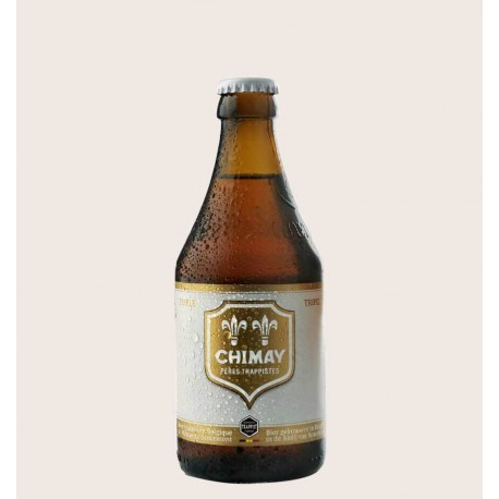 Cerveza importada chimay tripel Belgian Tripel quiero chela
