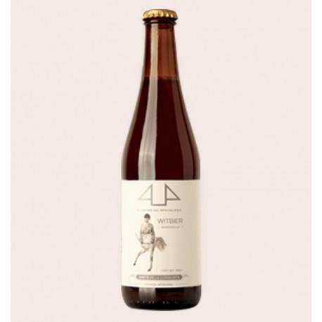 Cerveza artesanal witbier 4 jinetes quiero chela
