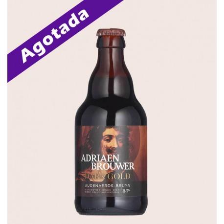 Cerveza belga importada Adriaen Brouwer dark gold Belgian Strong Ale quiero chela