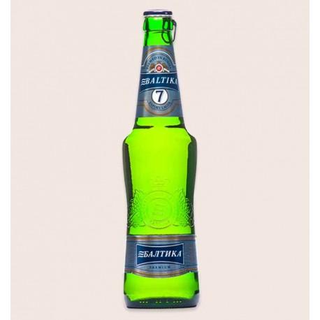 Cerveza importada baltika 7 lager quiero chela