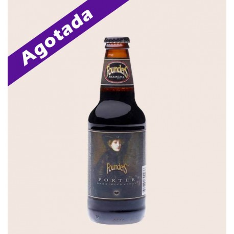 cerveza importada porter dark and sexy founders quiero chela