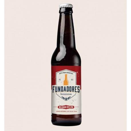 Cerveza artesanal Fundadores belgian rye ipa Quiero Chela