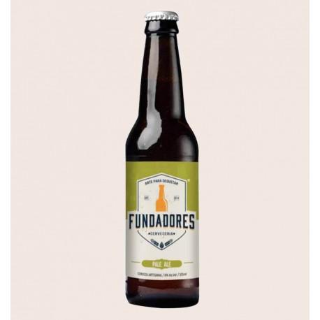 Cerveza artesanal Fundadores pale ale quiero chela