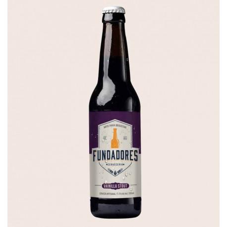 Cerveza artesanal Fundadores vainilla stout quiero chela