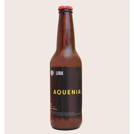 Cerveza artesanal Aquenia IPA Loba south norte quiero chela