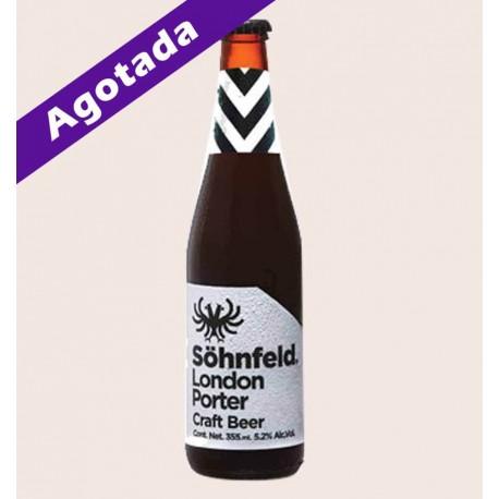 Cerveza artesanal Söhnfeld London Porter quiero chela