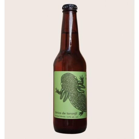Cerveza artesanal monstruo de agua tonico de toronjil quiero chela