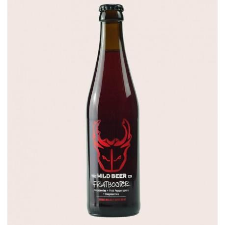 Cerveza importada wild beer fruitbooter Saison de Frambuesas quiero chela