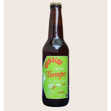 Cerveza artesanal tiempo Doble IPA irreverente quiero chela