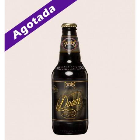 Cerveza importada Doom founders IPA quiero chela