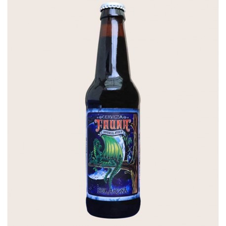 Cerveza artesanal nox arcana Imperial Stout fauna quiero chela