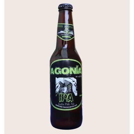 Cerveza artesanal agonia TMA IPA quiero chela