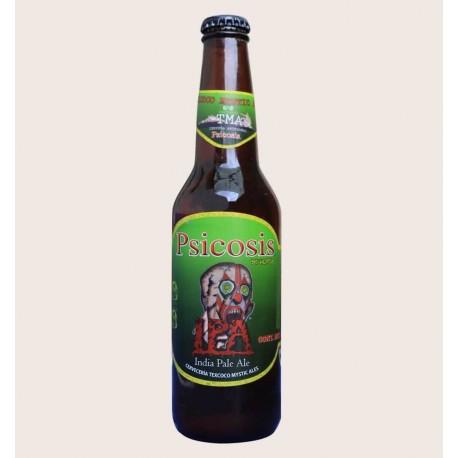 Cerveza artesanal psicosis TMA IPA quiero chela