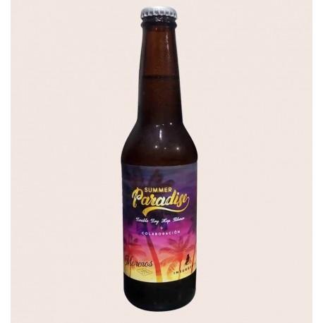 Cerveza artesanal summer paradise Double Dry Hop Pilsner insurgente y morenos quiero chela